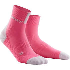 cep 3.0 Short Socks Women rose/light grey